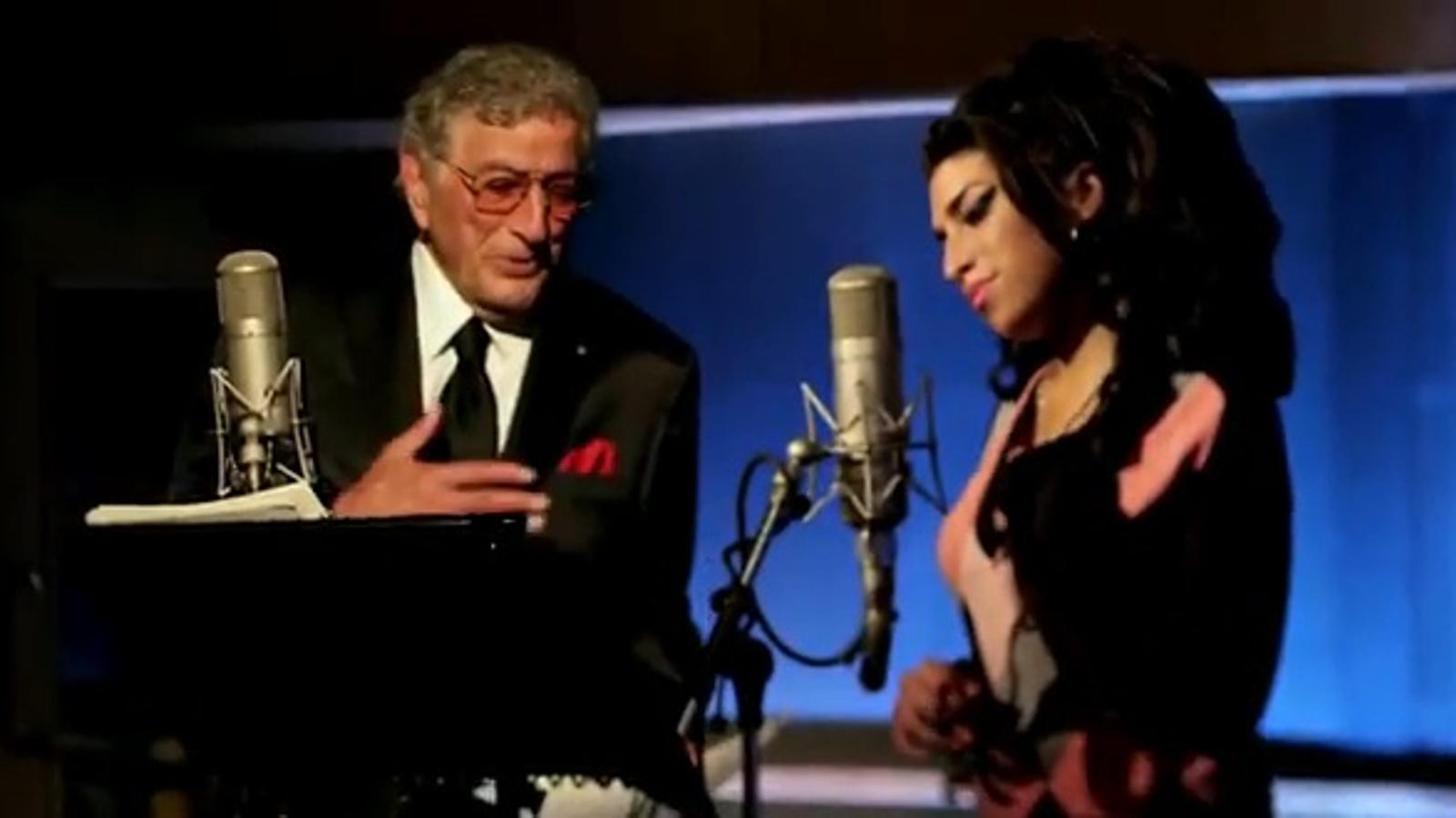 S'estrena el tema inèdit que Amy Winehouse va gravar amb Tony Bennett