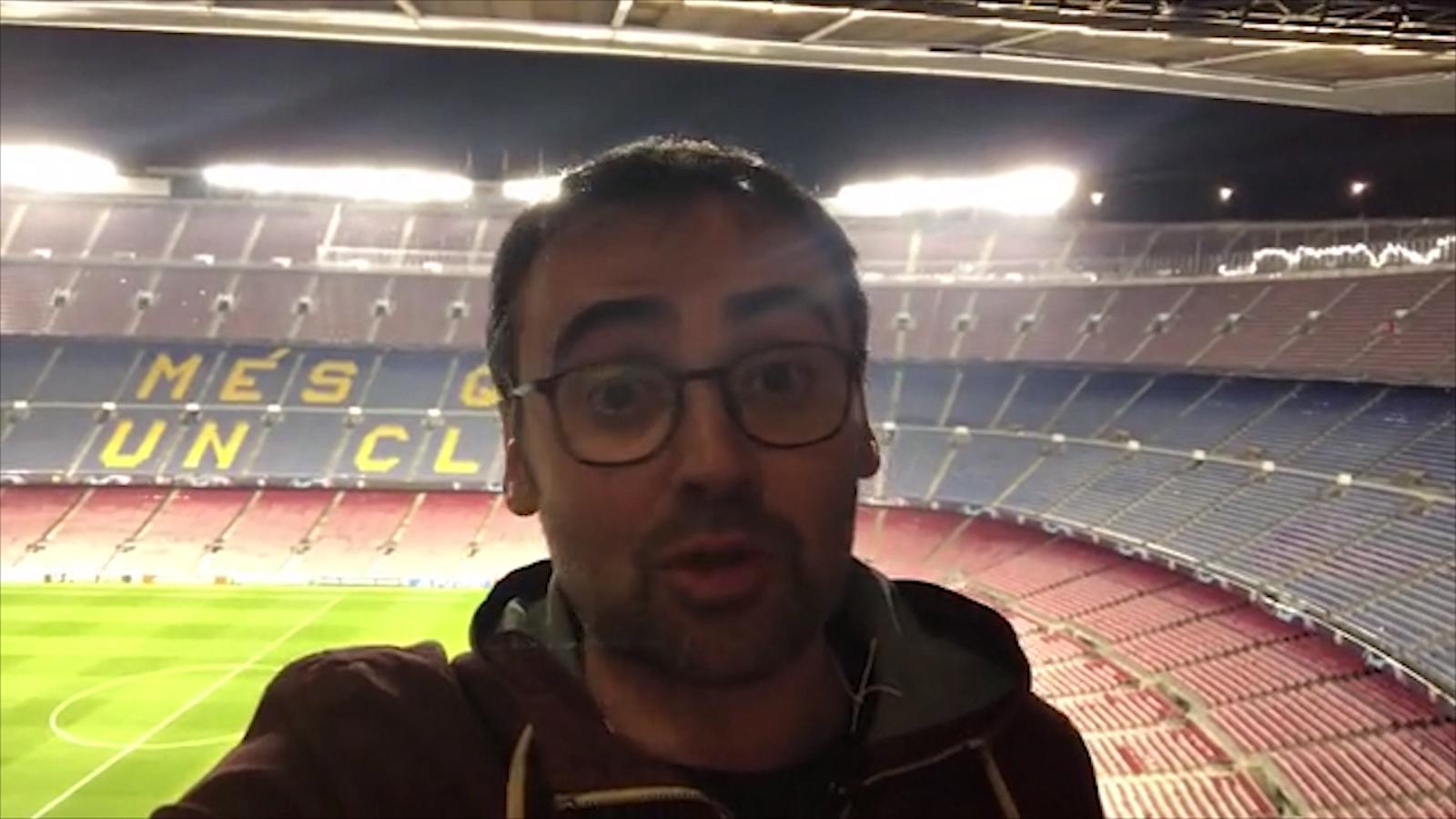 La crònica en un minut del Barça-Manchester United de Toni Padilla