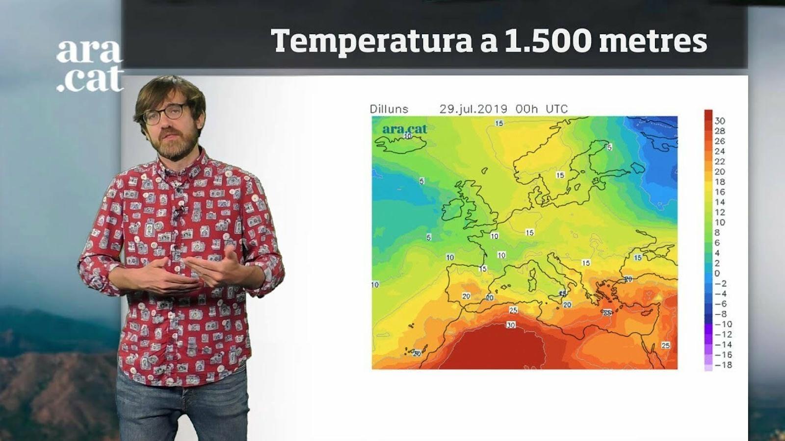 Méteo especial: dos dies més d'onada de calor