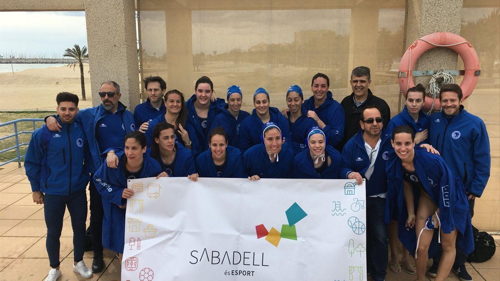 El CN Sabadell s'enfrontarà al UVSE de Budapest a la 'final four' de l'Eurolliga
