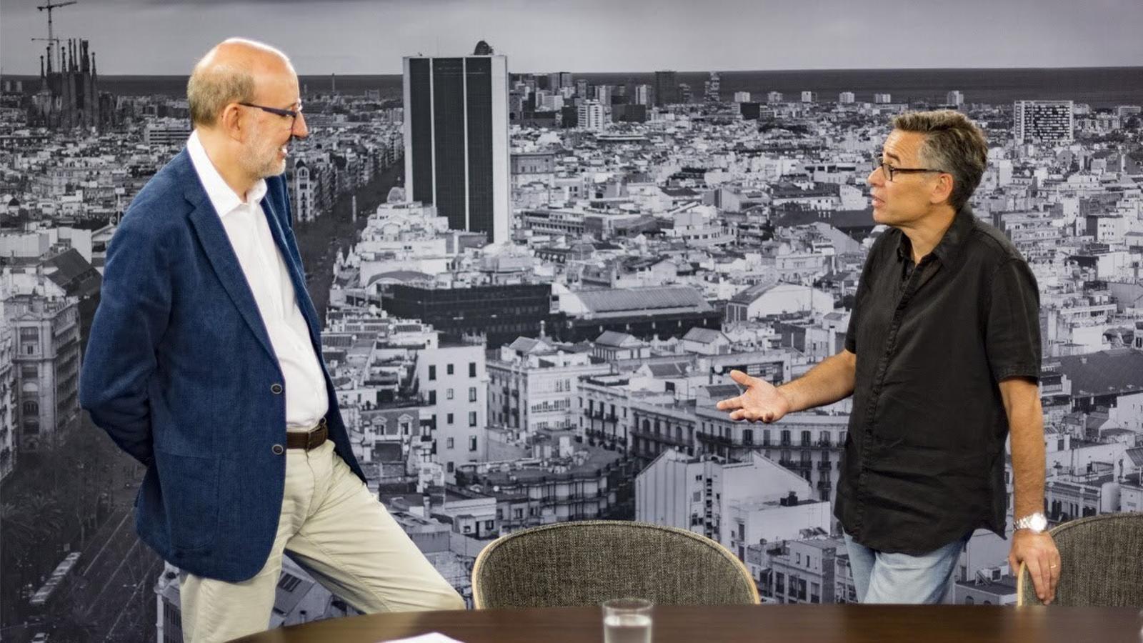 Entrevista d'Antoni Bassas a Jordi Galceran