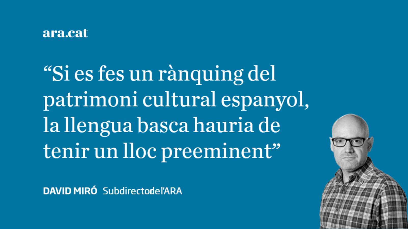 Euskofòbia i supremacisme lingüístic