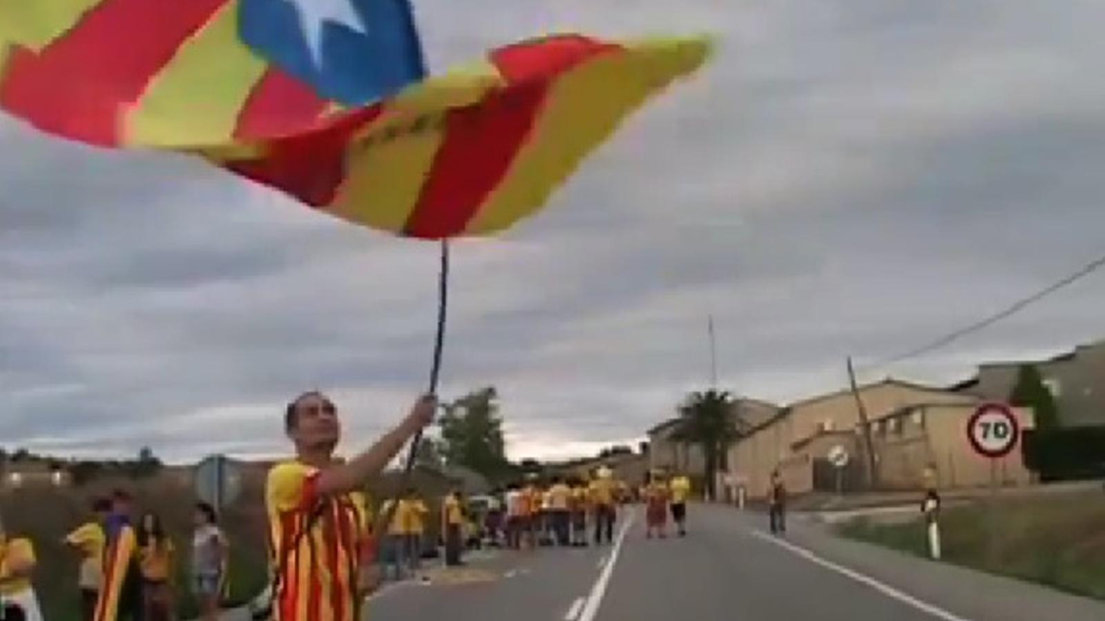 Sabadell, amb la Via a Bàscara