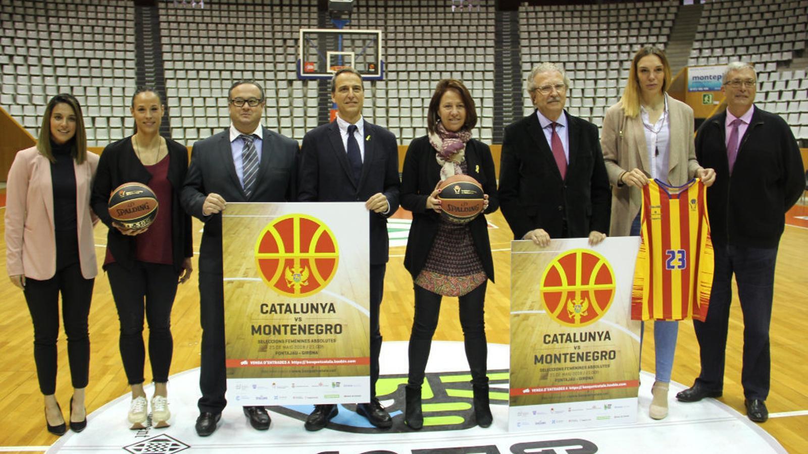 Fontajau acull el partit entre Catalunya i Montenegro