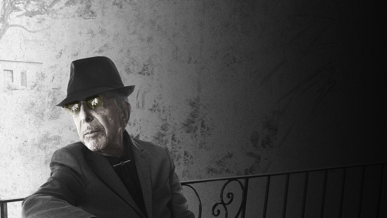 Leonard Cohen a la fotografia que també ha servit com a portada del disc You want it darker.