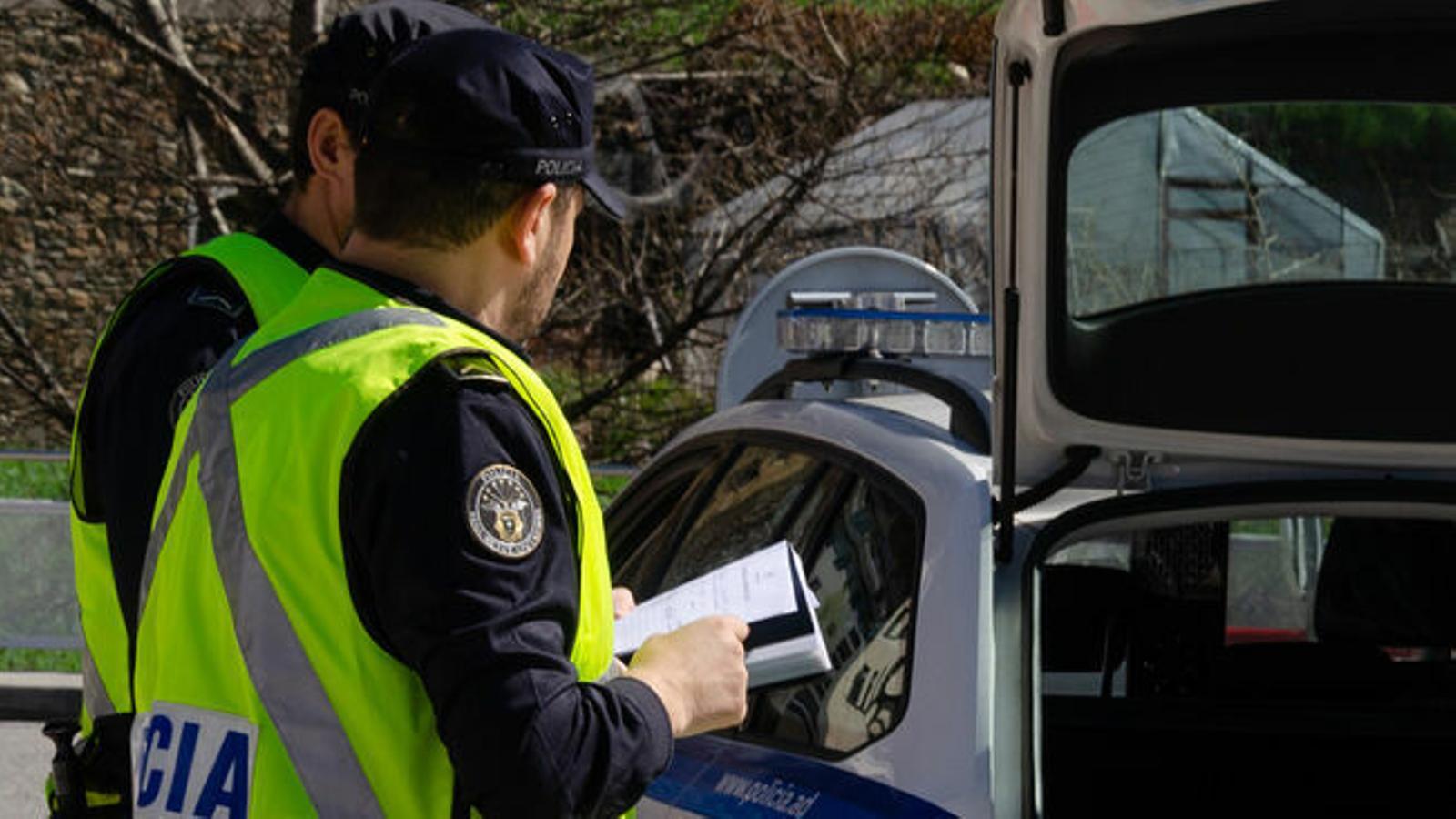 La policia ha informat aquest dissabte de l'accident de divendres a la tarda. / ARXIU ANA