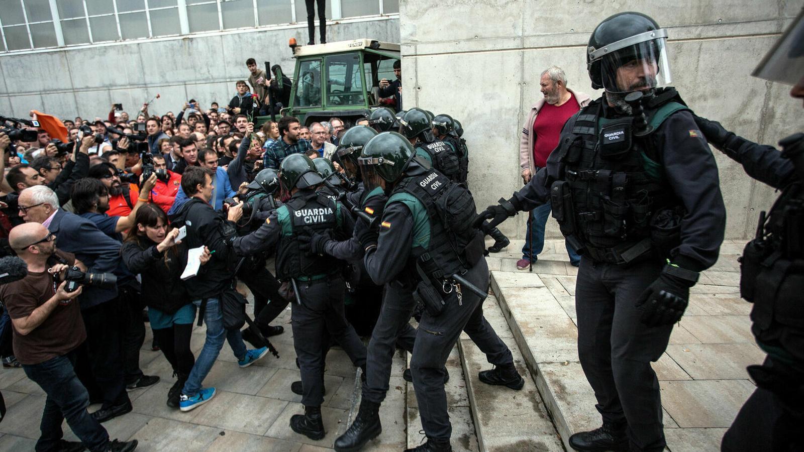 """El cap de la Guàrdia Civil a Catalunya: """"Estem enfrontats a l'independentisme radical, autòcrata i supremacista"""""""
