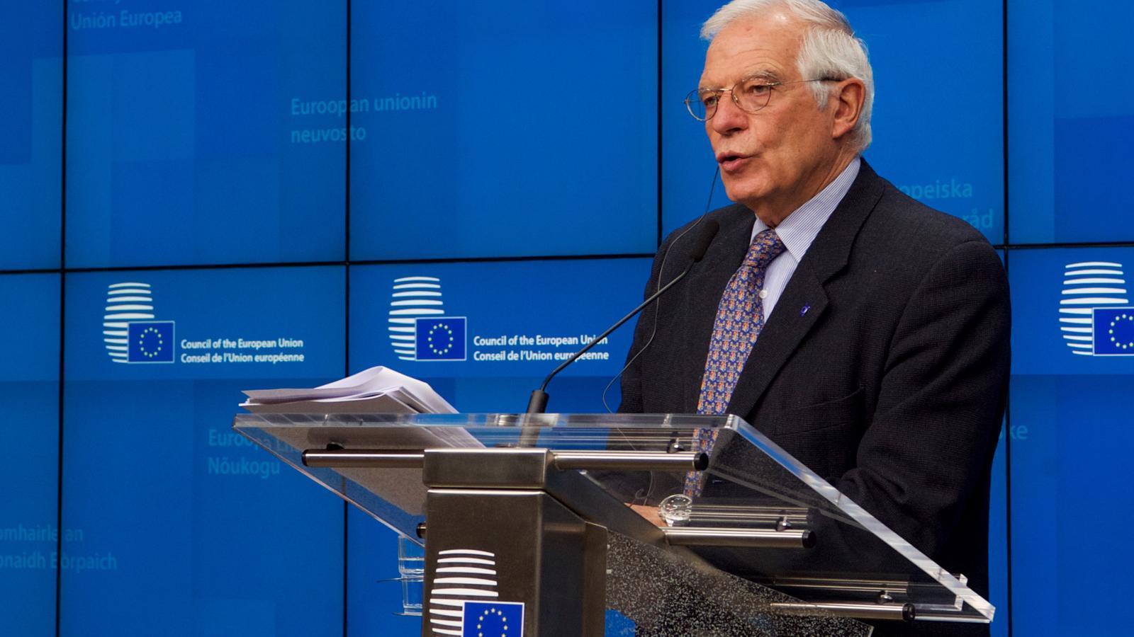 L'Alt Representant de la UE, Josep Borrell.