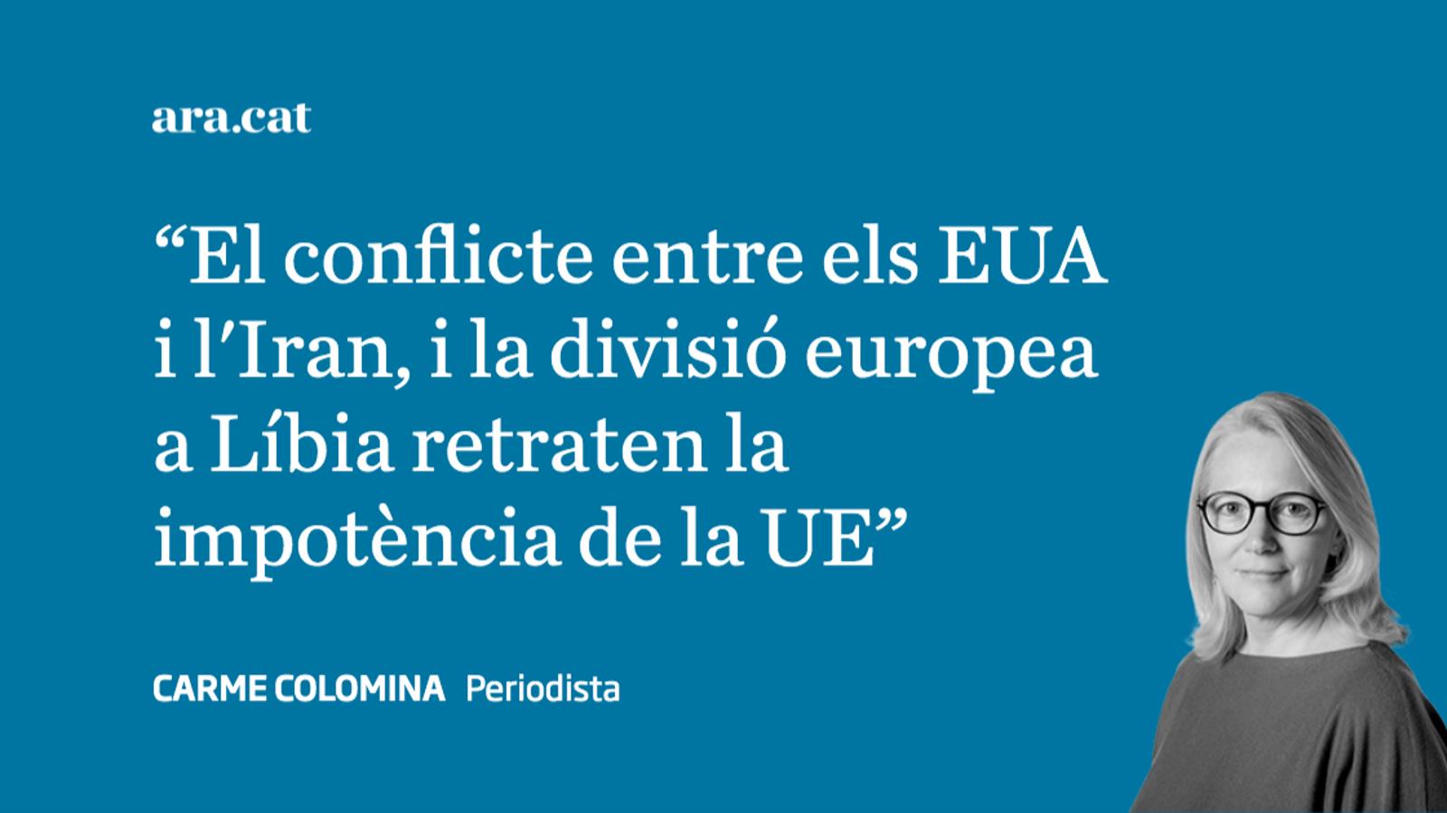 La debilitat  Exterior de la UE