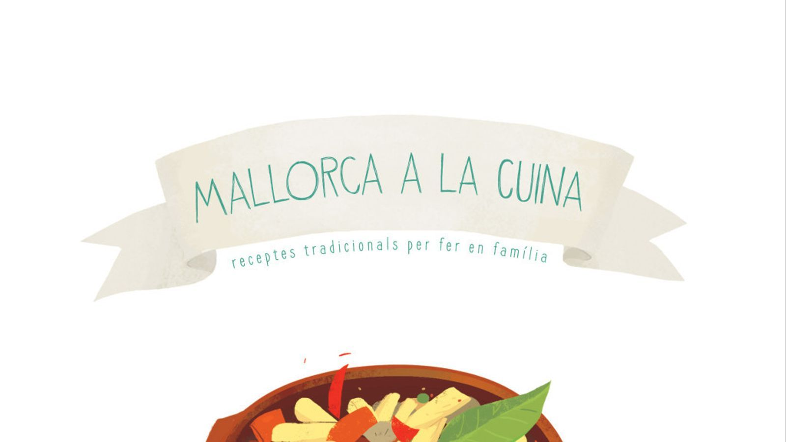 Portada del llibre 'Mallorca a la cuina' de Souvenir edicions.
