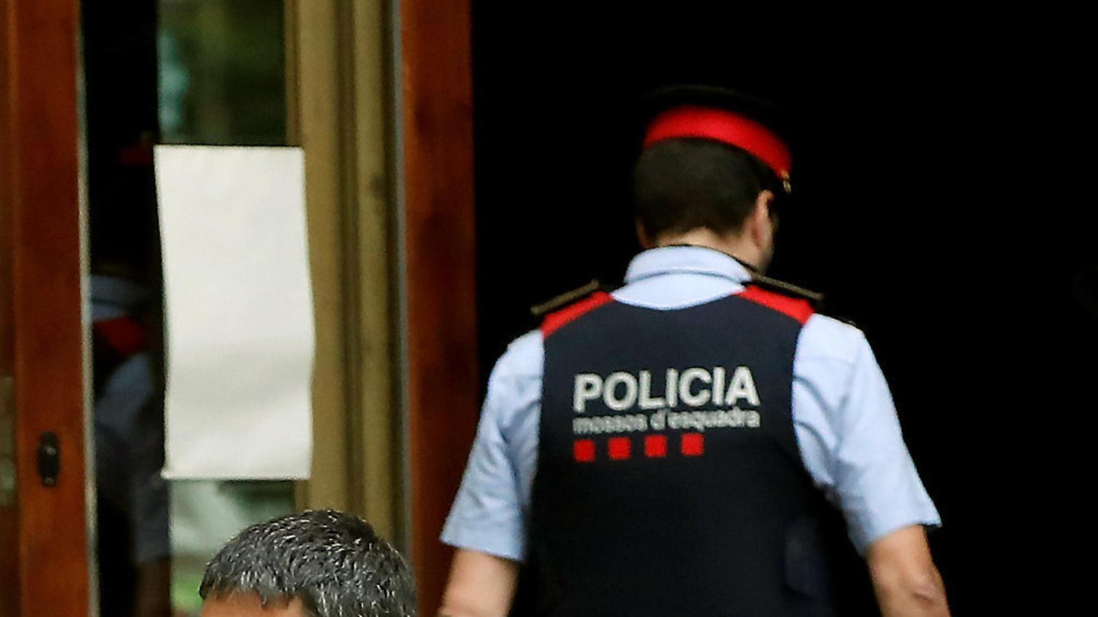 El Tribunal que jutja Trapero s'allunya de la sedició