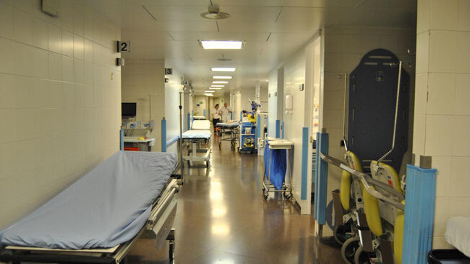 Una imatge de l'hospital Nostra Senyora de Meritxell. / ARXIU