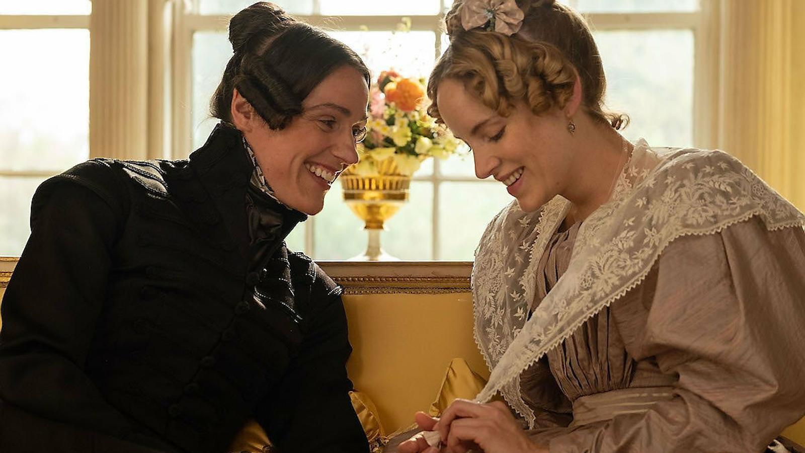 Suranne Jones interpreta un personatge real, Anne Lister, una dona de principis del XIX que es casa amb el personatge de Sophie Rundle.