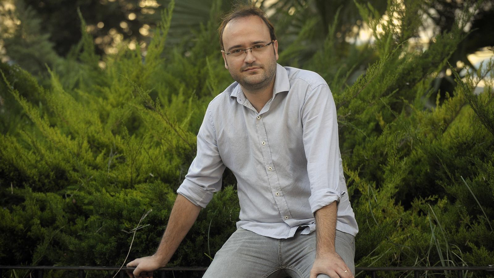 El president d'Esquerra Republicana del País Valencià, Josep Barberà.