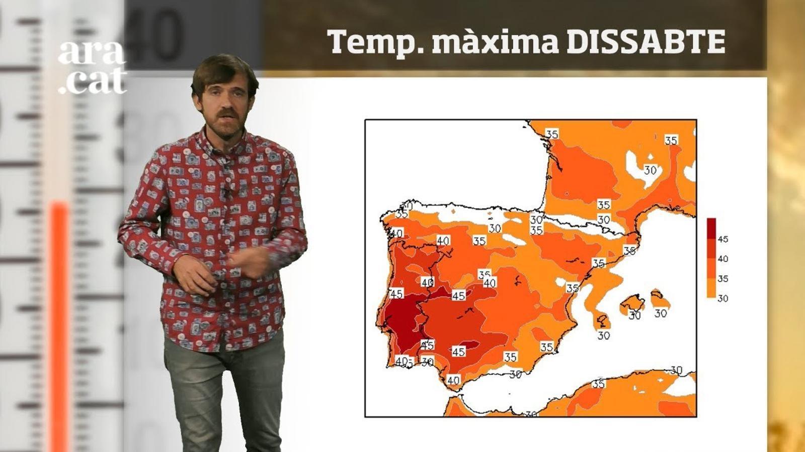 Méteo especial: onada de calor a l'espera d'un temps més canviant