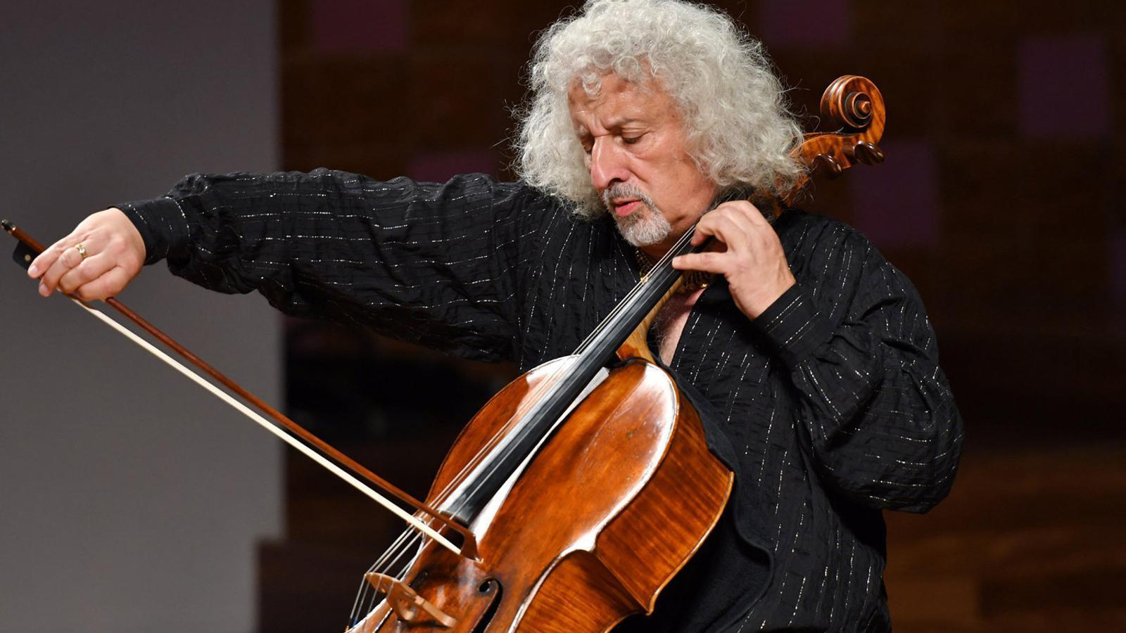 El viol·loncelista Mischa Maisky. / A. BOFILL