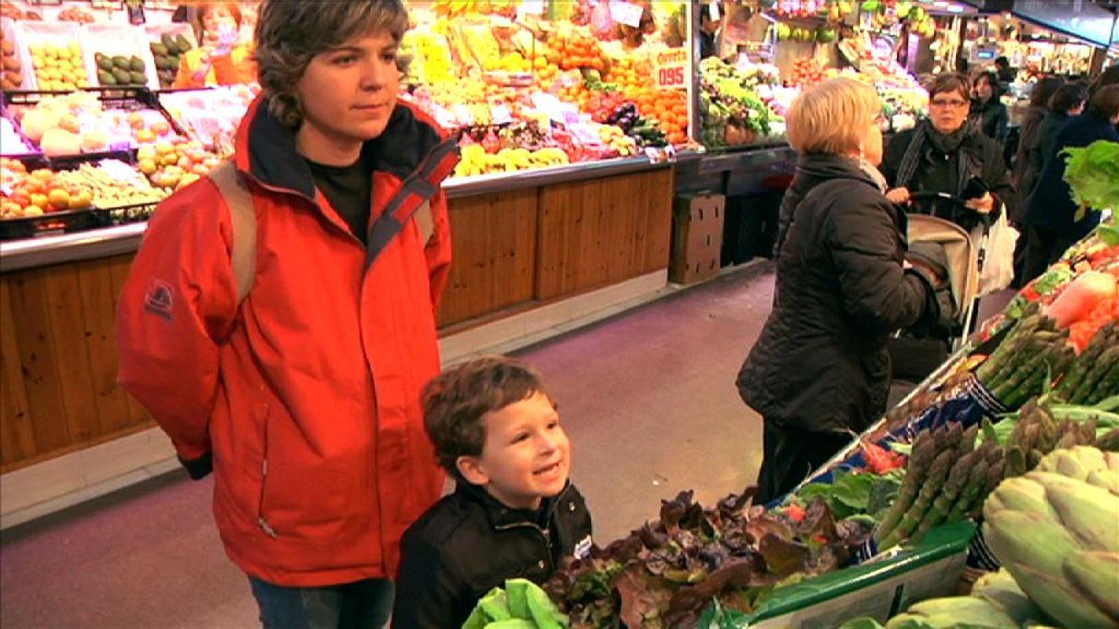 Criatures: Al mercat amb els més petits