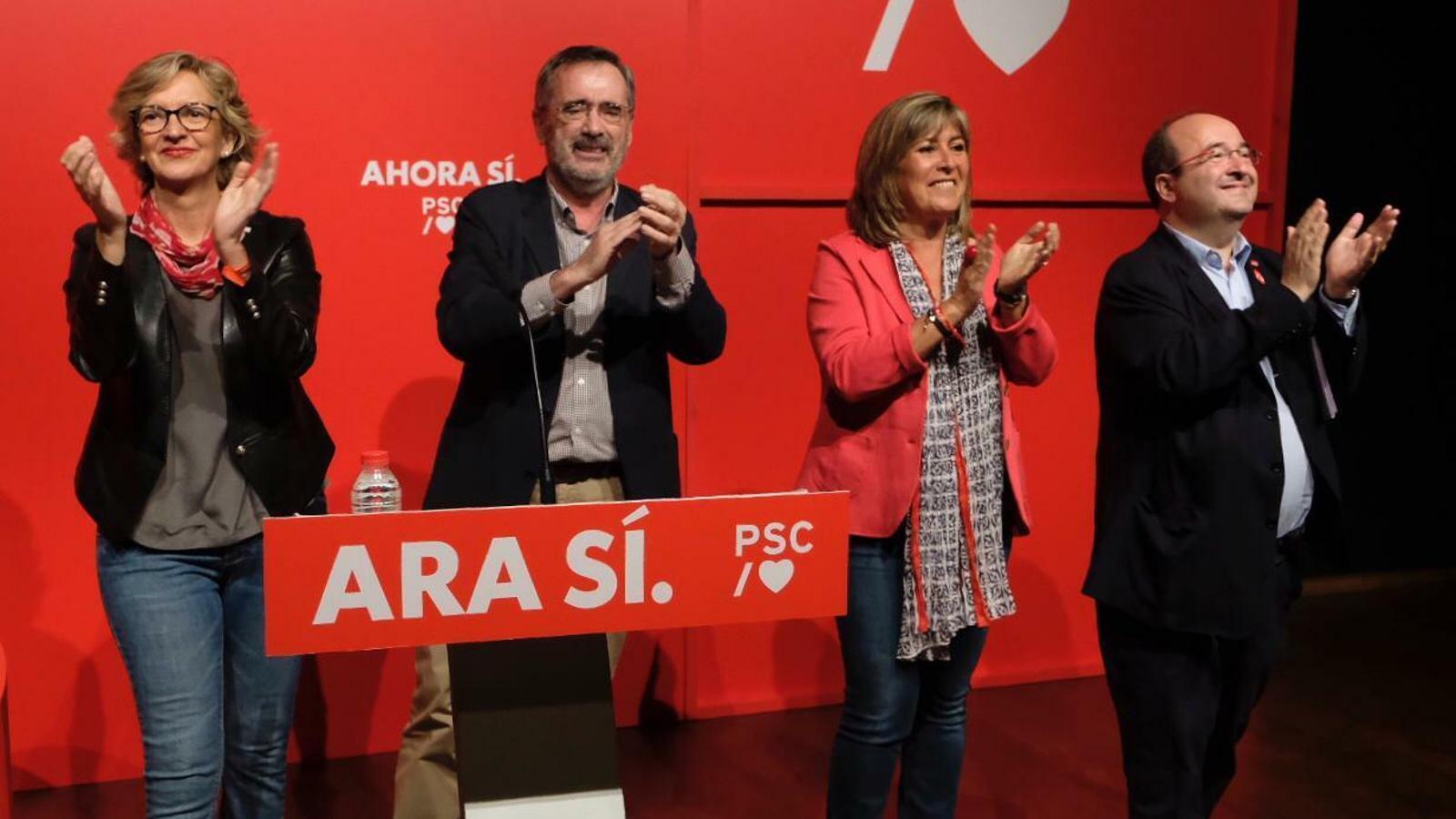 El PSC rema amb Sánchez per aconseguir la 'pole position' a les catalanes