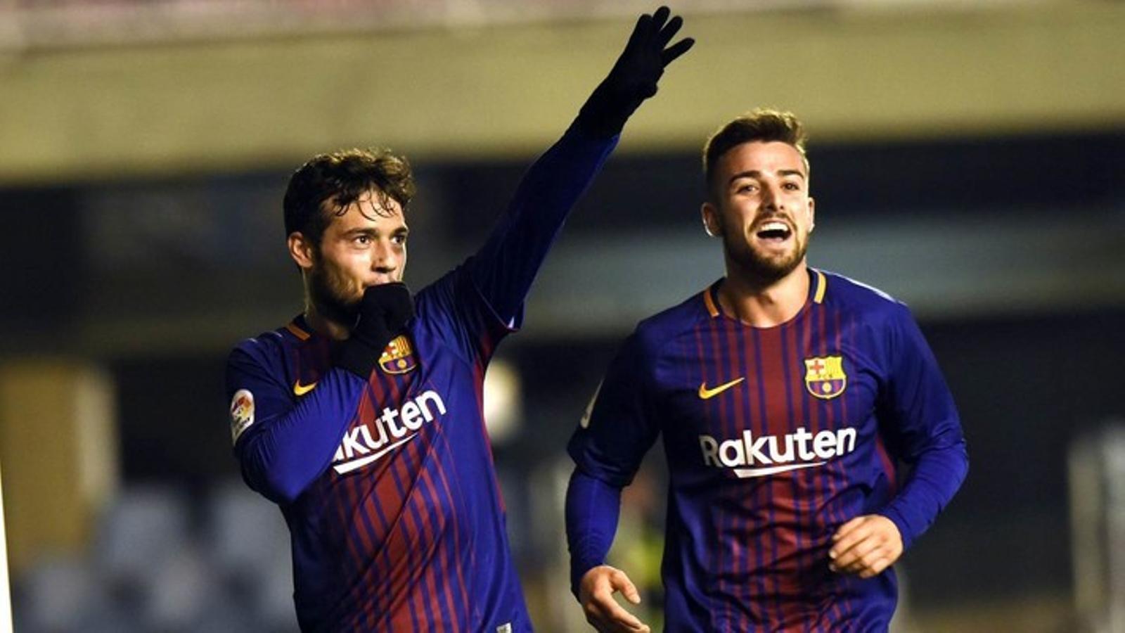 José Arnaiz celebrant un gol contra l'Sporting en l'últim partit al Miniestadi