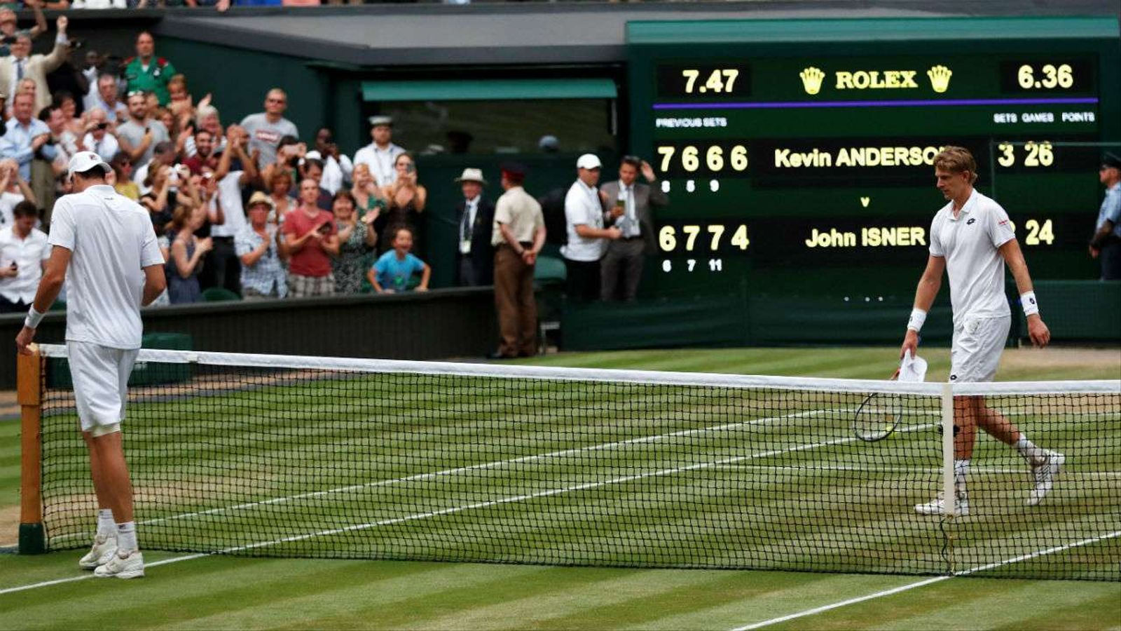 Wimbledon introdueix el 'tie break' al cinquè set i acaba amb els partits maratonians