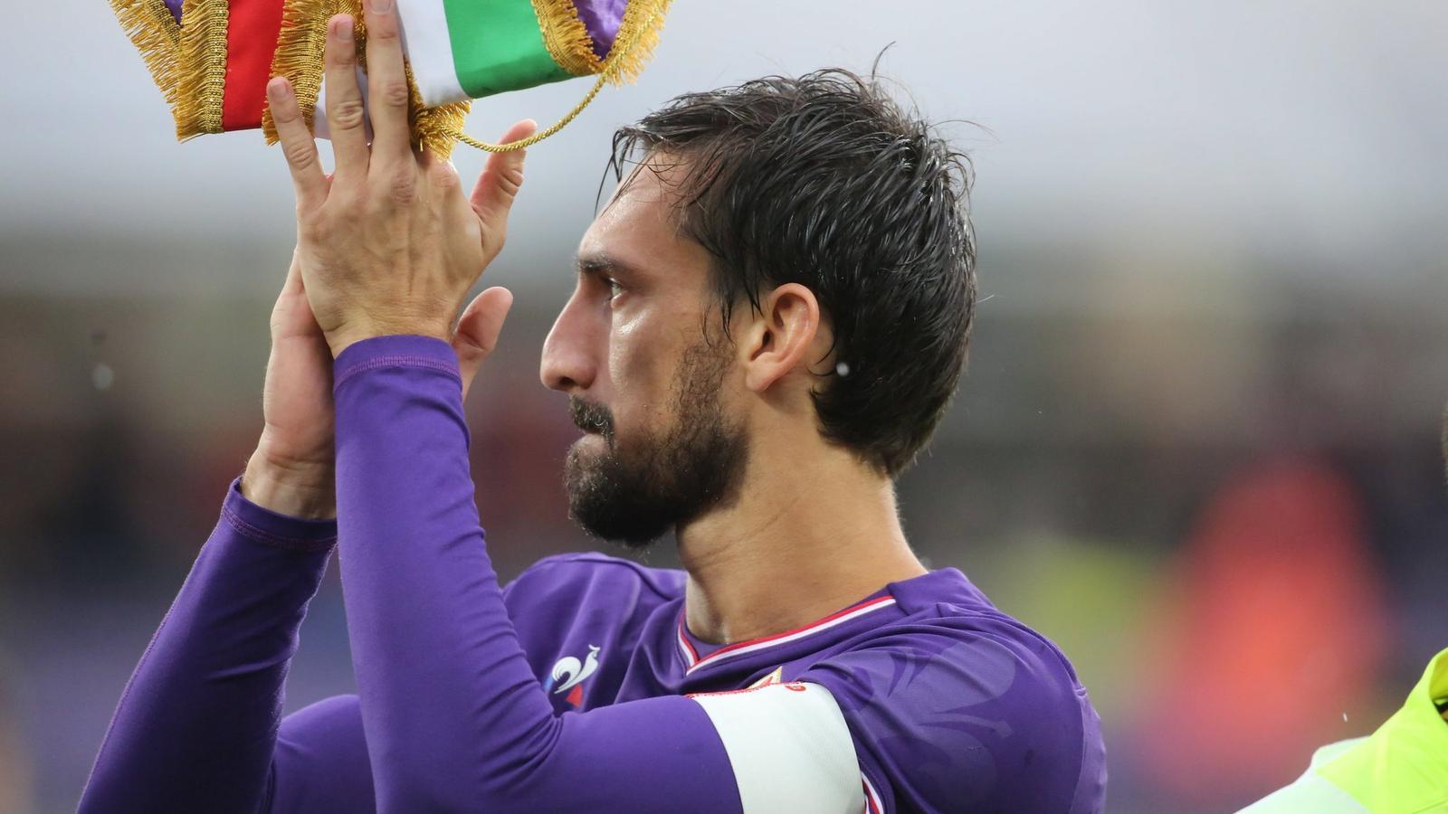 Davide Astori, capità del Fiorentina