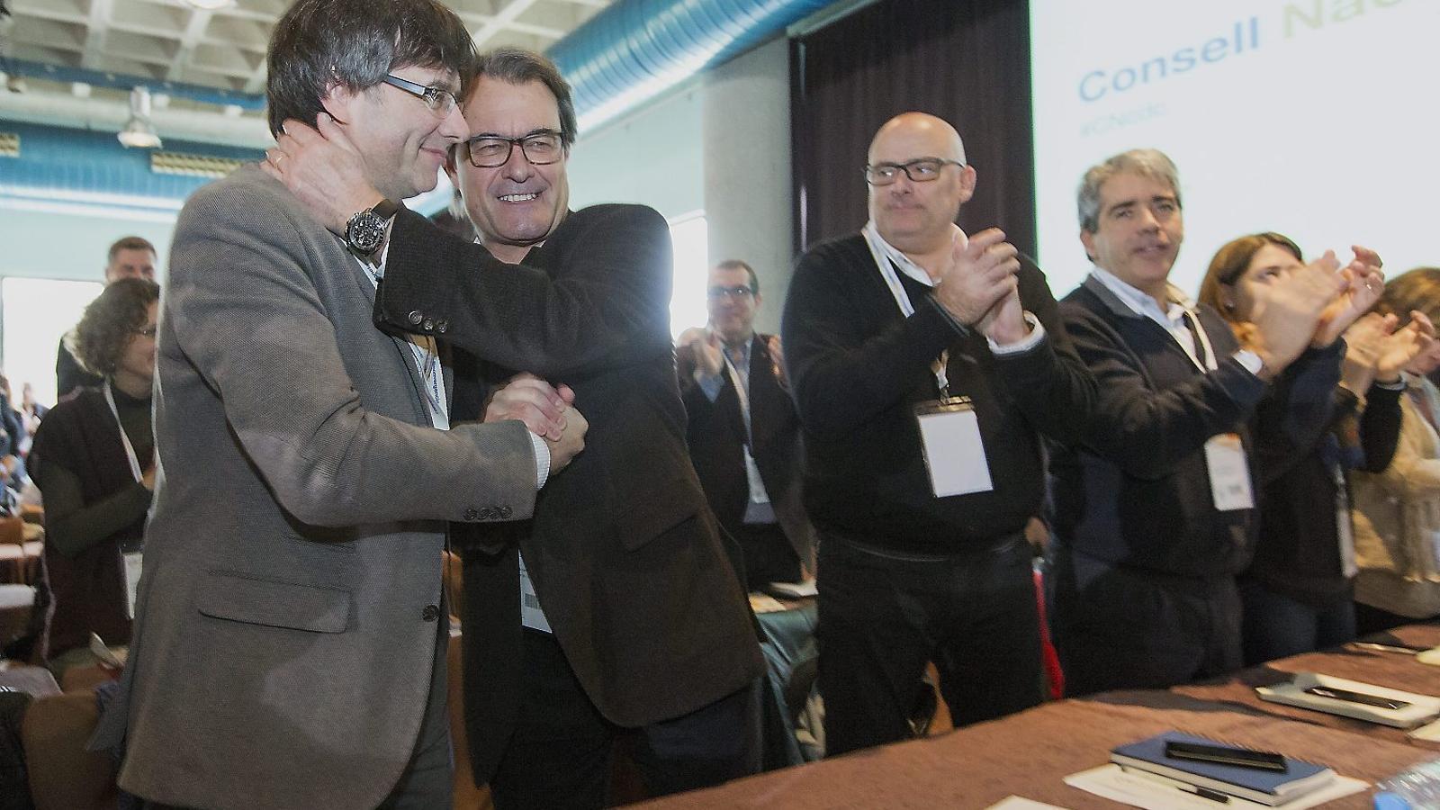 Puigdemont s'allunyarà de la pugna congressual oberta a CDC