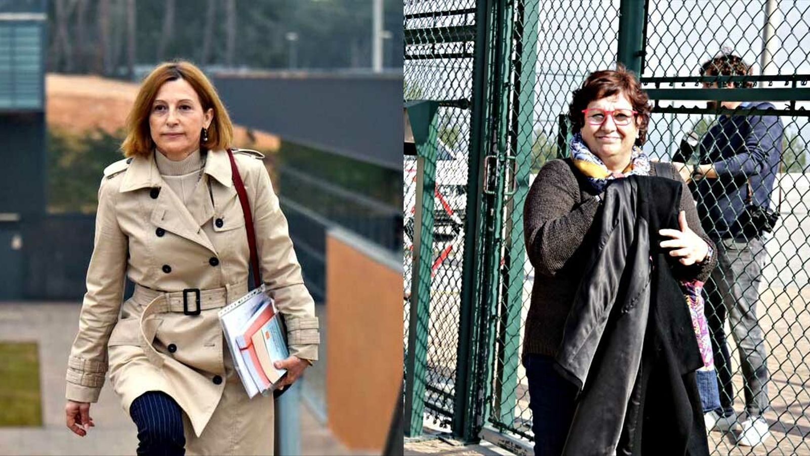 """""""Persistim"""": Forcadell i Bassa surten per primer cop de la presó en aplicació de l'article 100.2"""