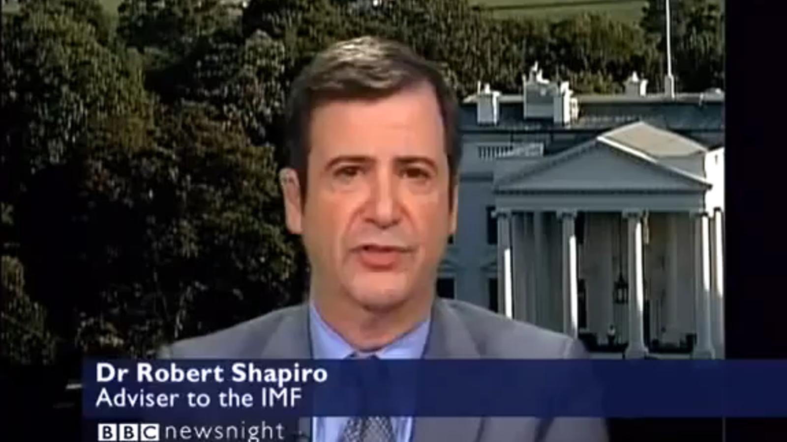 Un assessor de l'FMI augura el col·lapse de la banca europea en dues o tres setmanes
