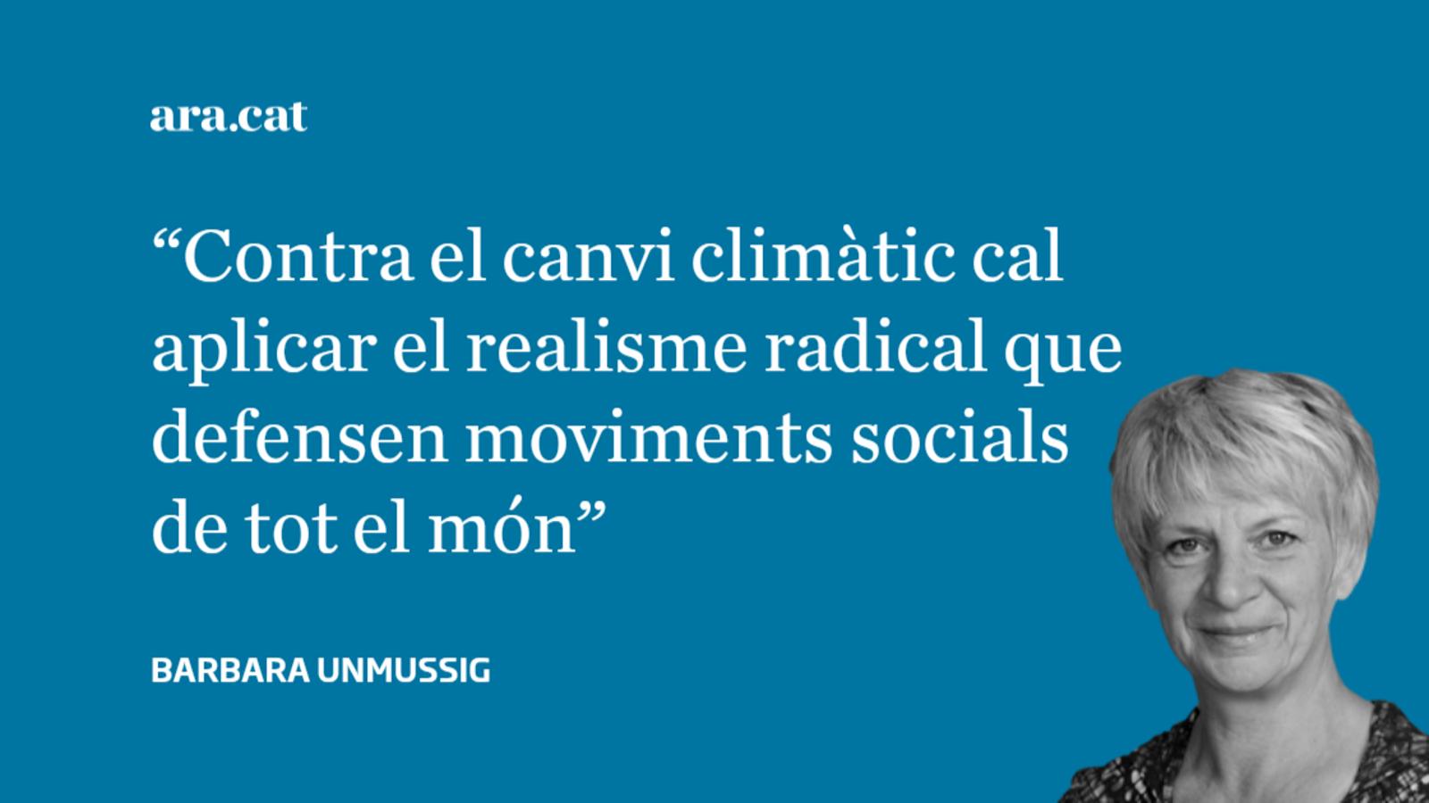 Una visió radicalment realista del clima