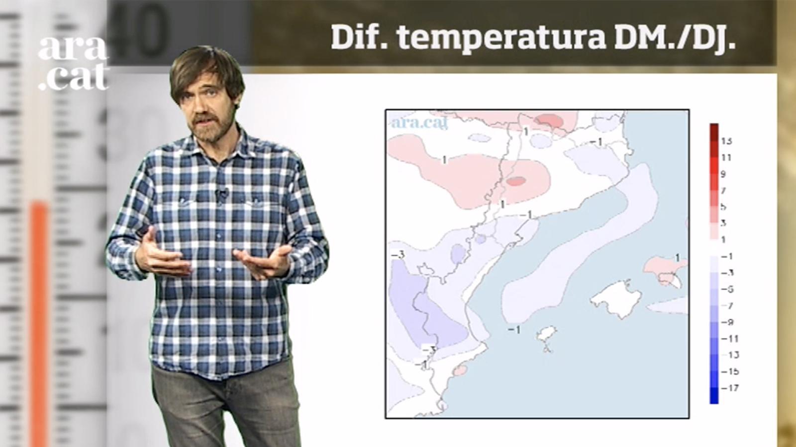 La méteo en 1 minut: migdies càlids i sol fins al cap de setmana