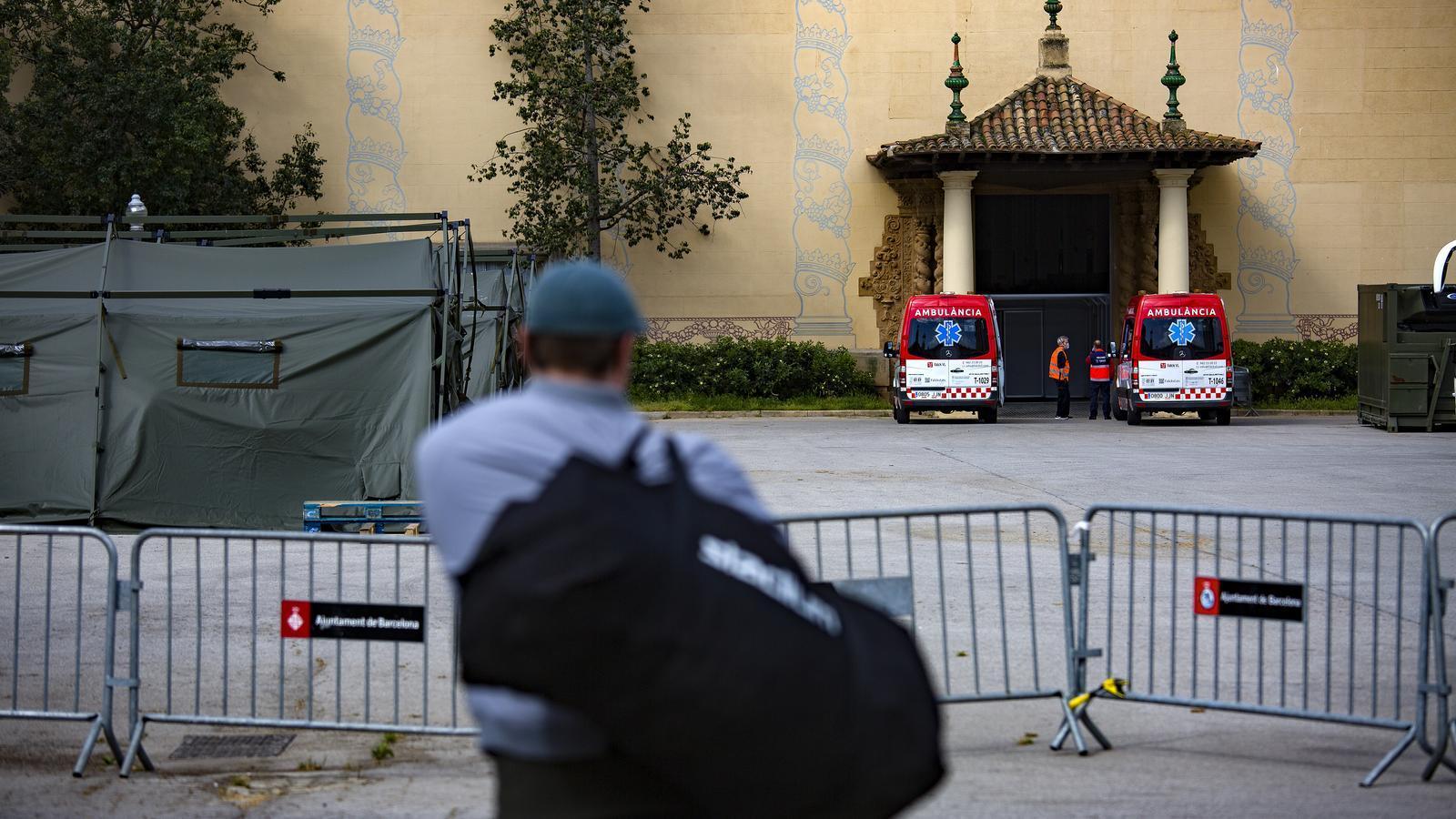 L'espai per als sensellar a la Fira de Barcelona, una bomba de rellotgeria