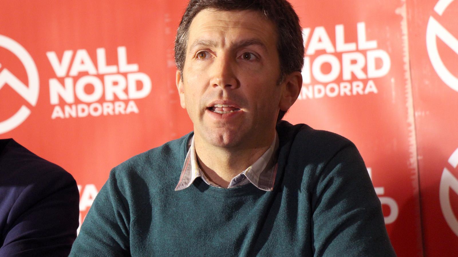 El director d'Ordino Arcalís, Xabier Ajona. / C.G. (ANA)