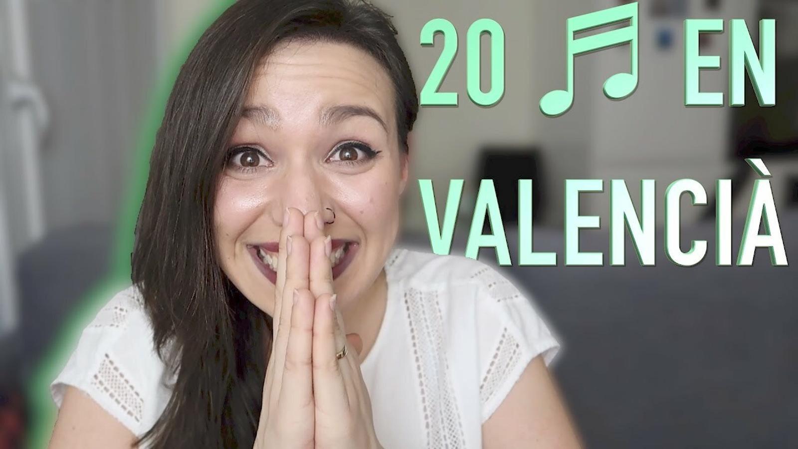 20 cançons en valencià de Miss Tagless