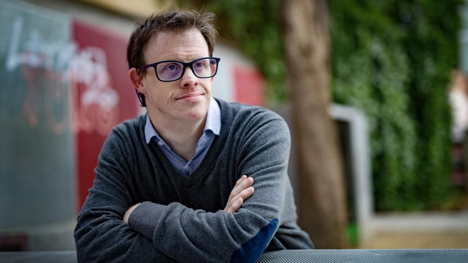 """Andy Trias: """"Vull que la societat s'adoni que les persones amb síndrome de Down tenim sentiments"""""""