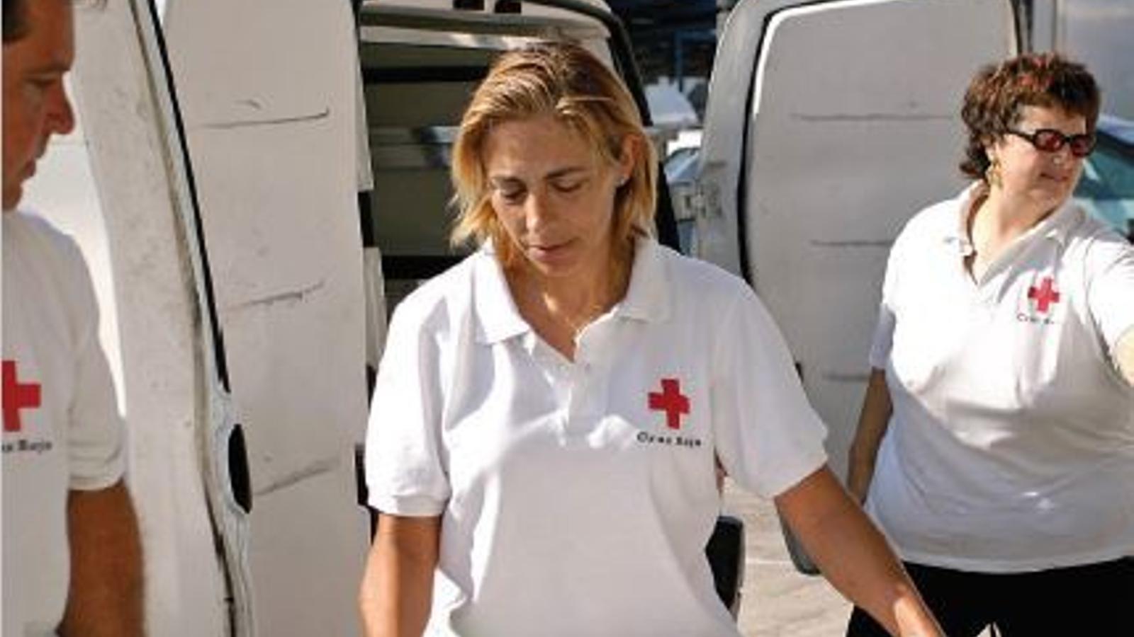 La Creu Roja és l'encarregada de gestionar el servei a Marratxí.