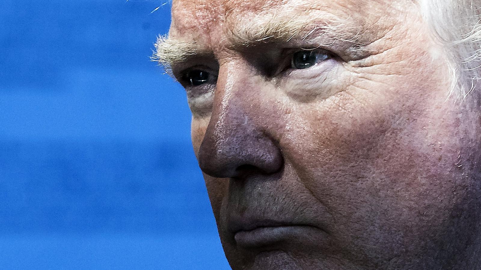 Trump trepitja el planeta Terra