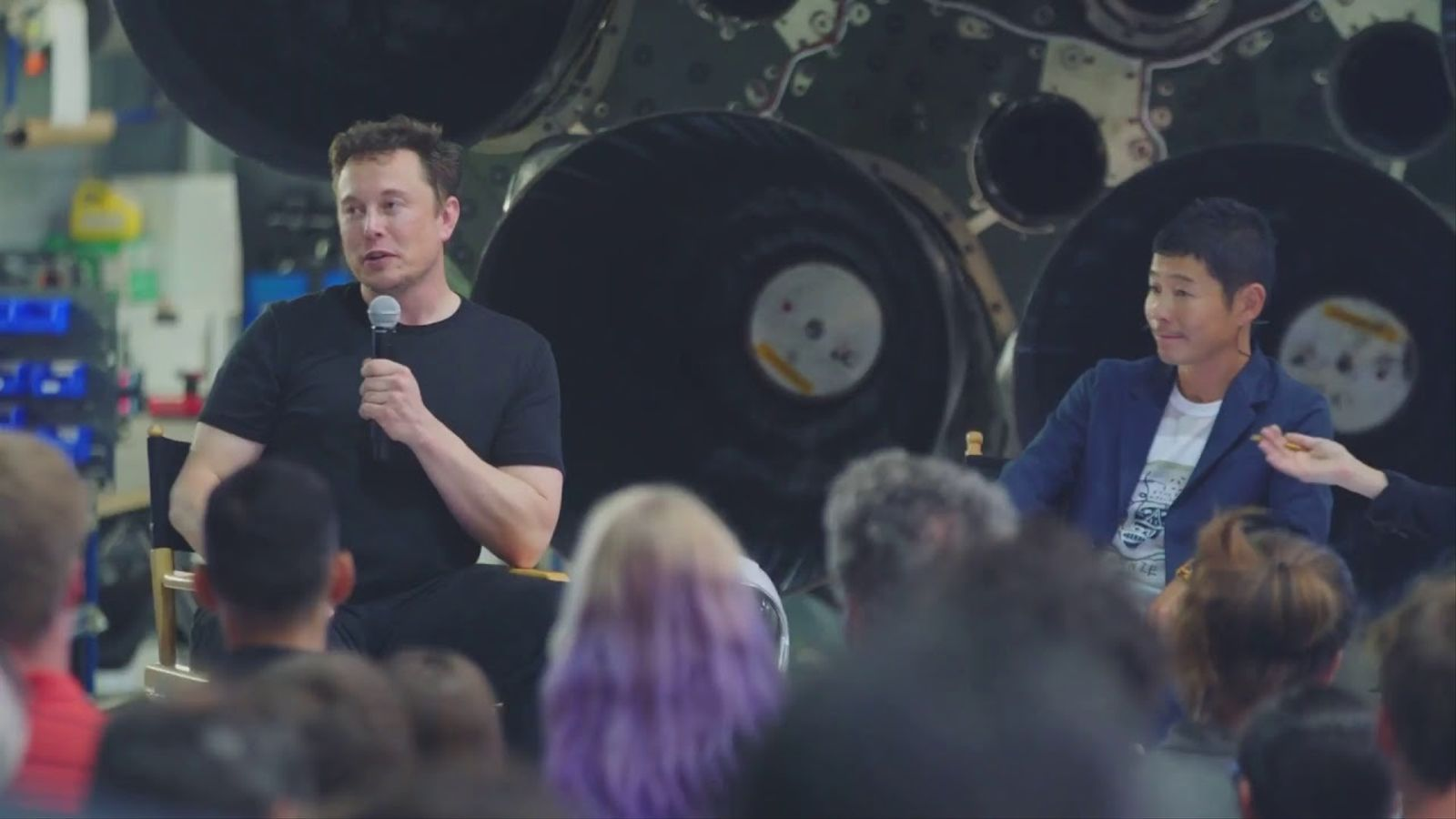 Presentació d'SpaceX, l'empresa d'Elon Musk