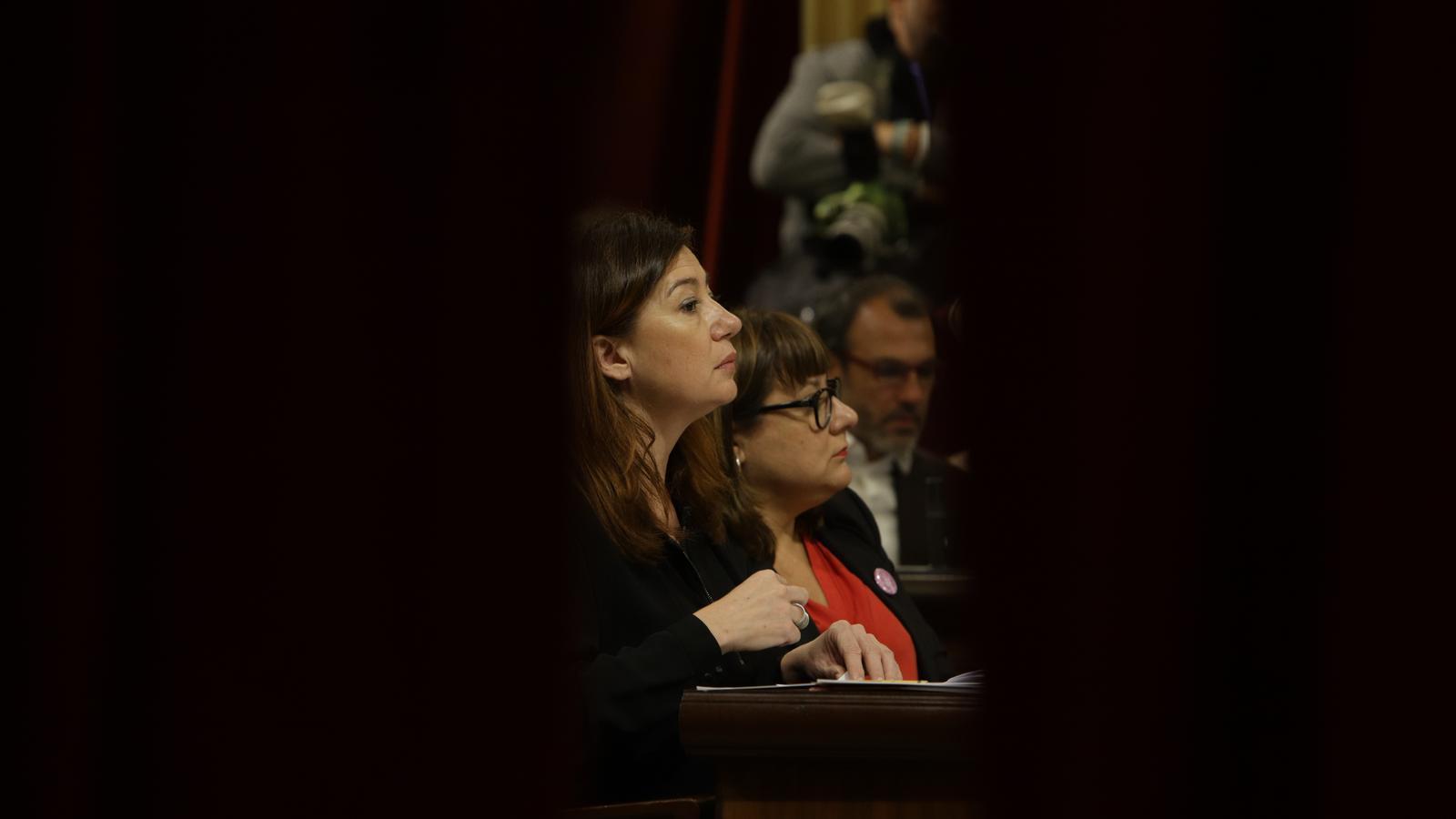 """Armengol a Seijas per dur el muntatge de Vox al ple: """"No faré propaganda"""""""
