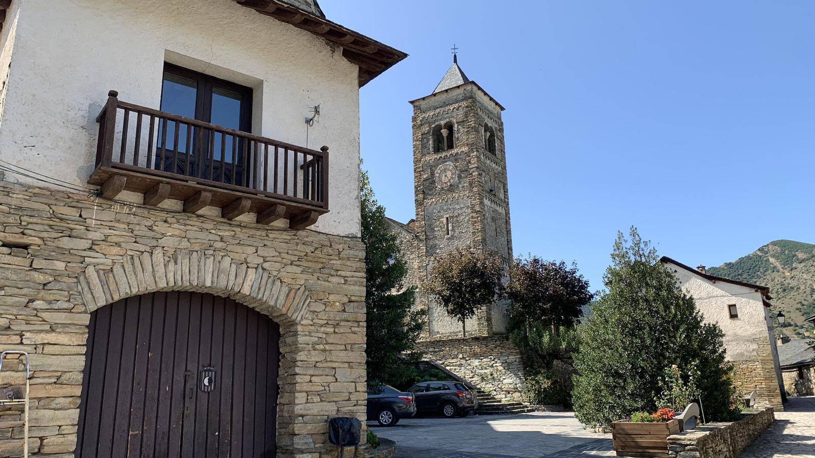 El poble de Tírvia, al Pallars Sobirà. / G.L.T.