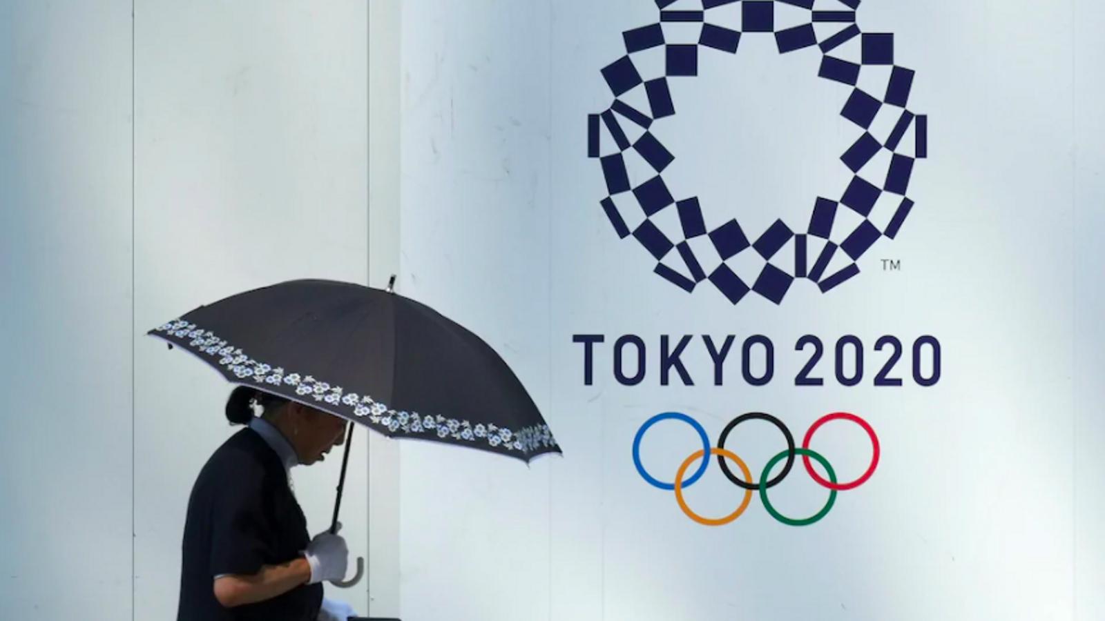 Una imatge promocional dels Jocs de Tòquio, suspesos aquest any i que s'hauran de celebrar el vinent