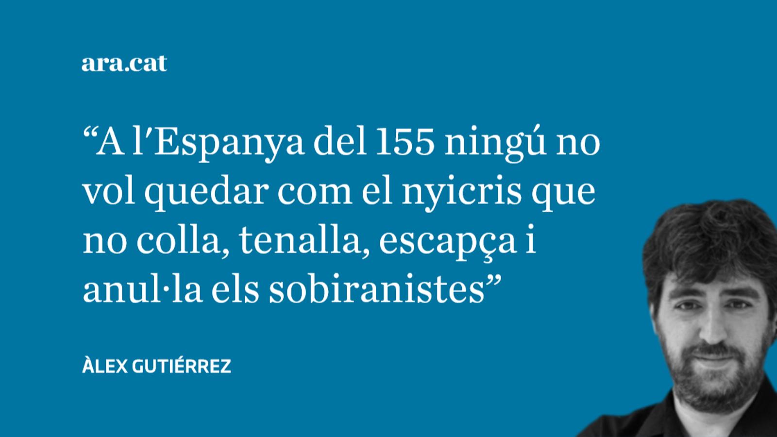 Pareu màquines: 'El País' branda la pastanaga icetiana dels indults