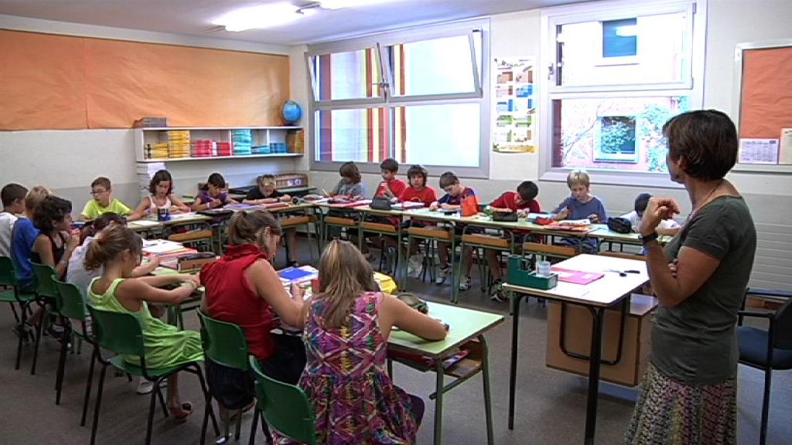 ARA Mestres: El primer dia a l'escola Gravi de Barcelona