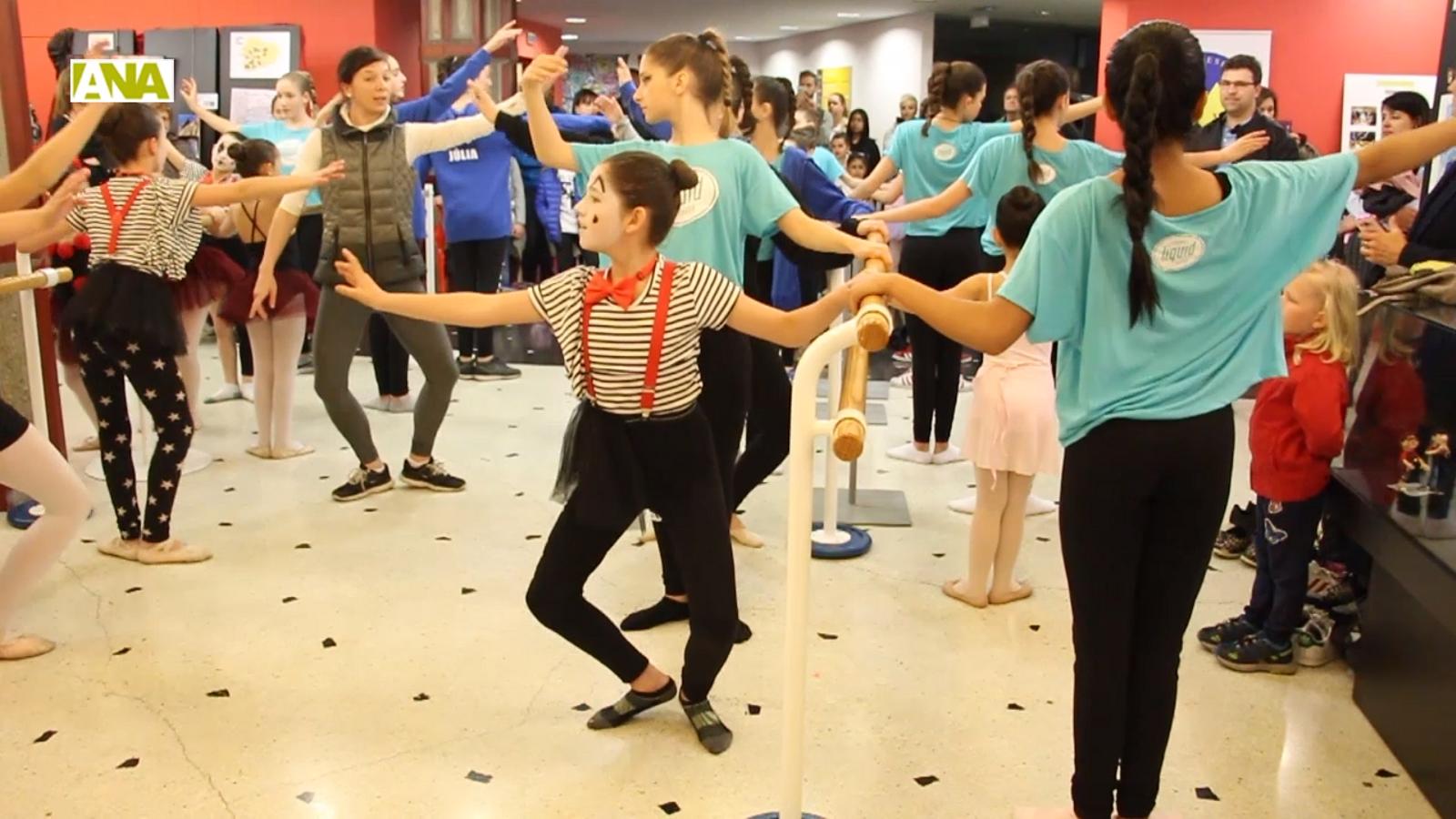 El Dia internacional de la dansa s'ha traslladat a La Llacuna