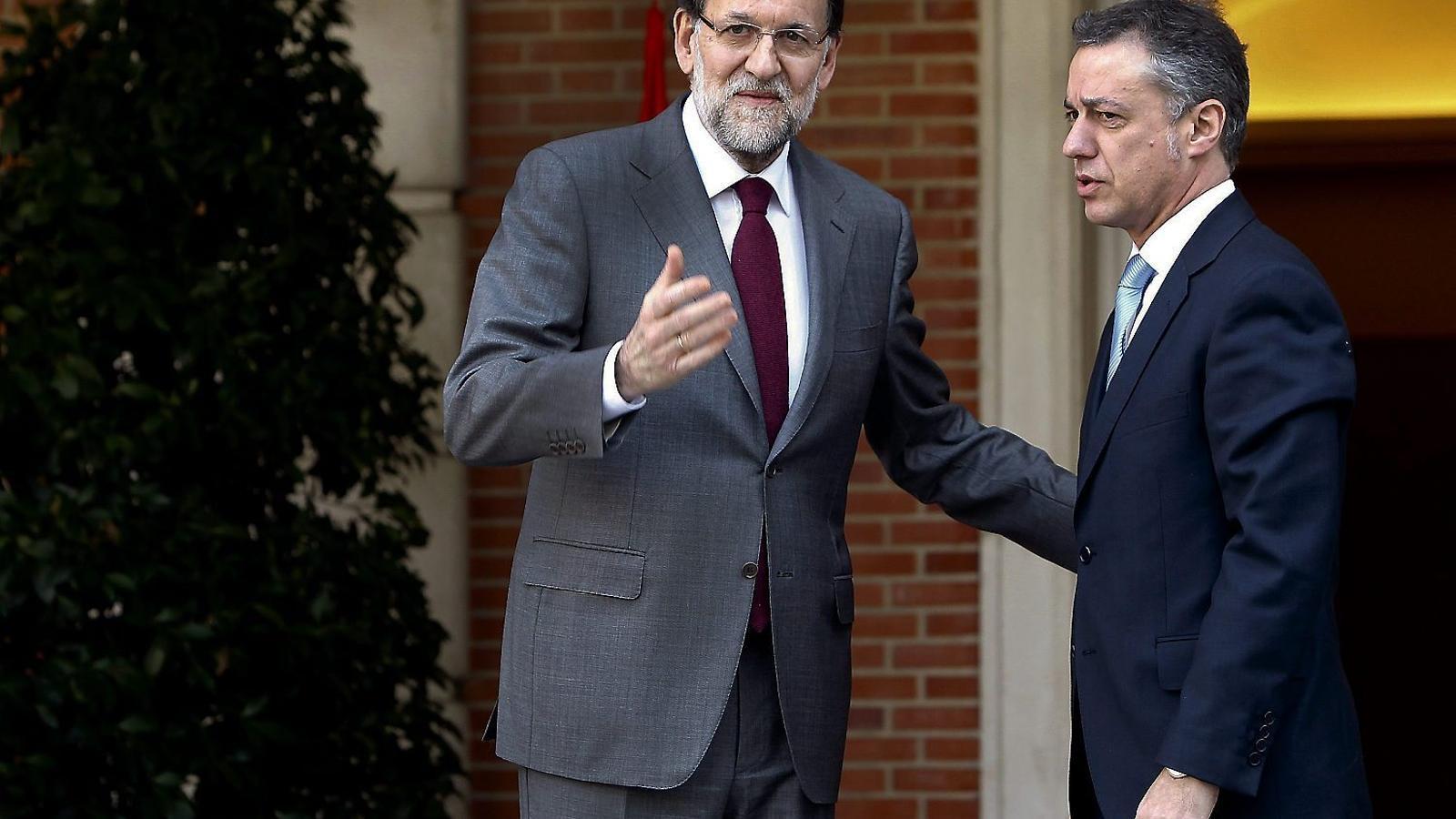 Les reunions i converses amb Urkullu que Rajoy no va recordar al Suprem