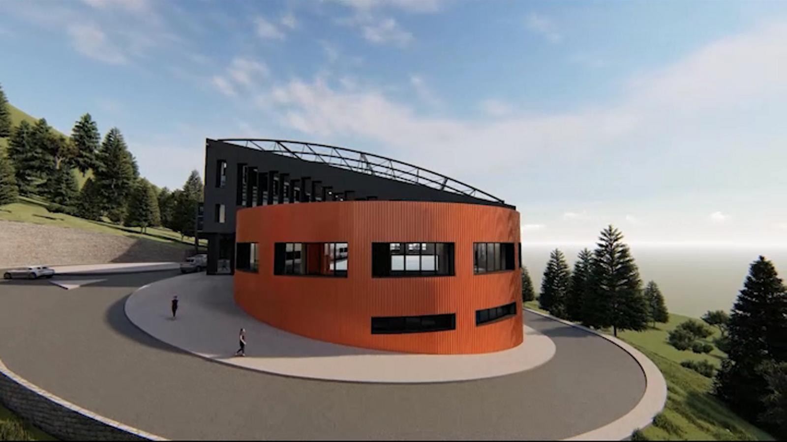 Simulació de com quedarà el centre esportiu després dels treballs