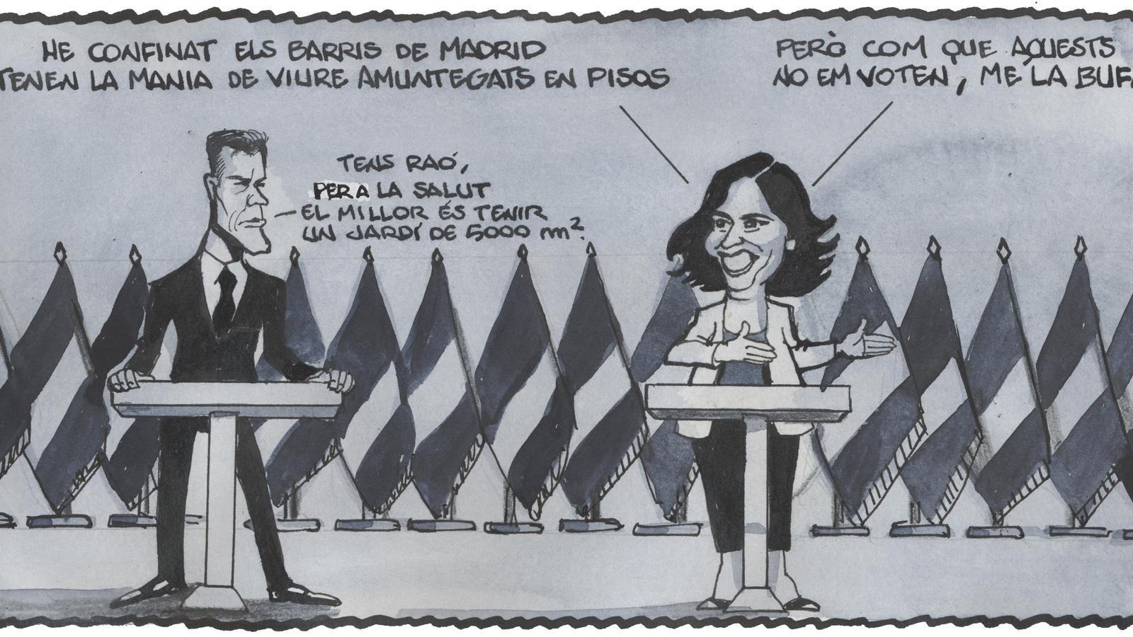 'A la contra', per Ferreres 23/09/2020