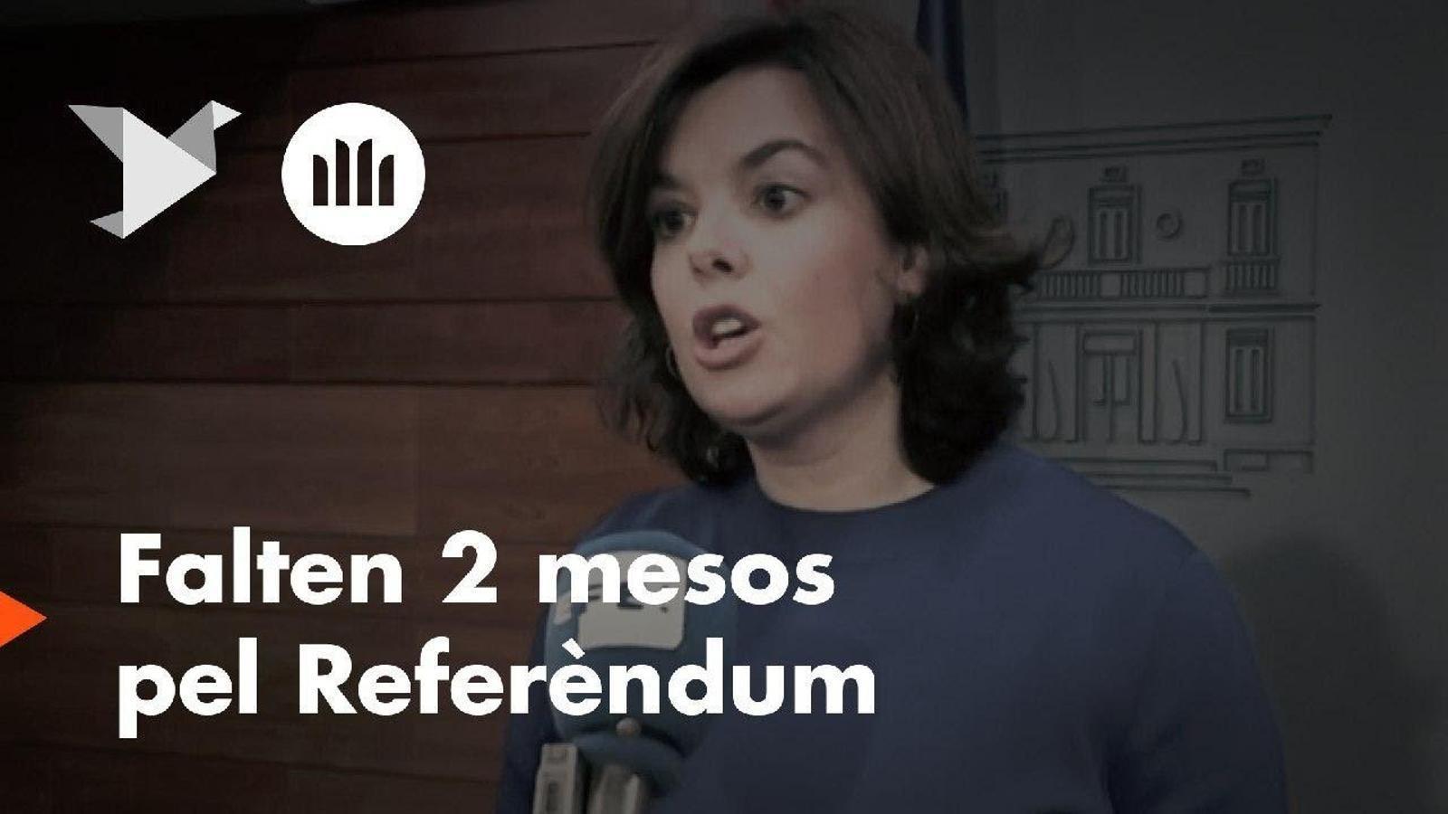 """""""Dos mesos per defensar la democràcia"""": Òmnium comença la campanya per l'1-O"""