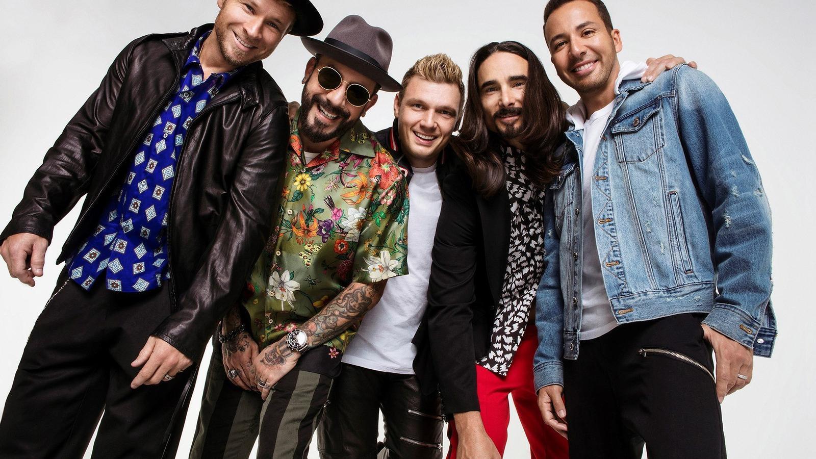 Backstreet Boys anuncien nou disc i una gira mundial