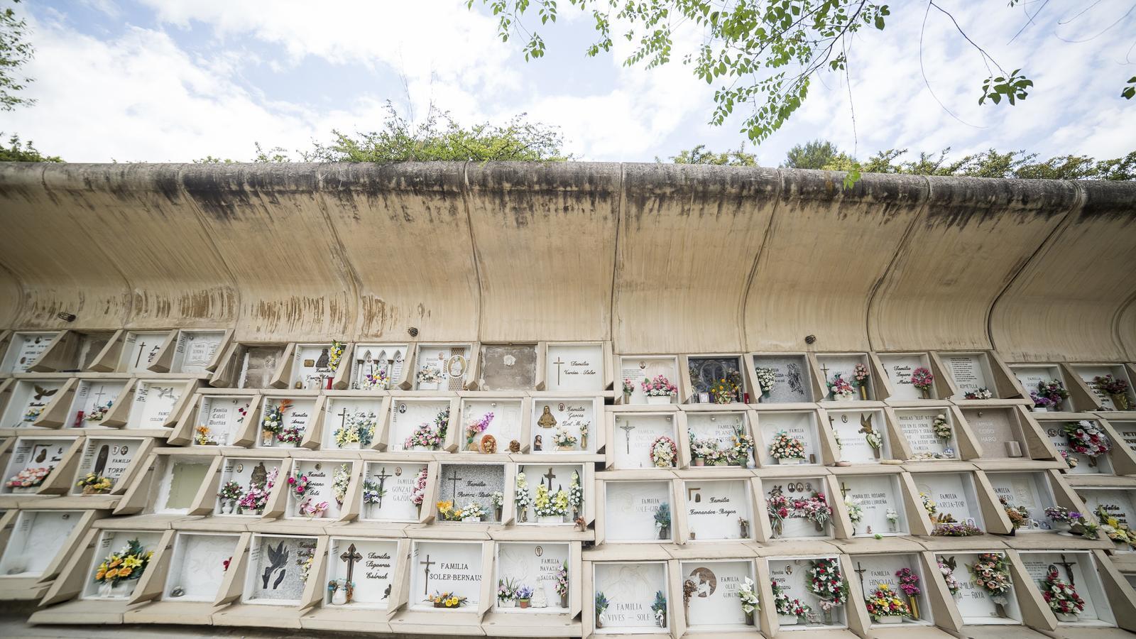 El cementiri d'Igualada, d'Enric Miralles i Carme Pinós / MARC ROVIRA