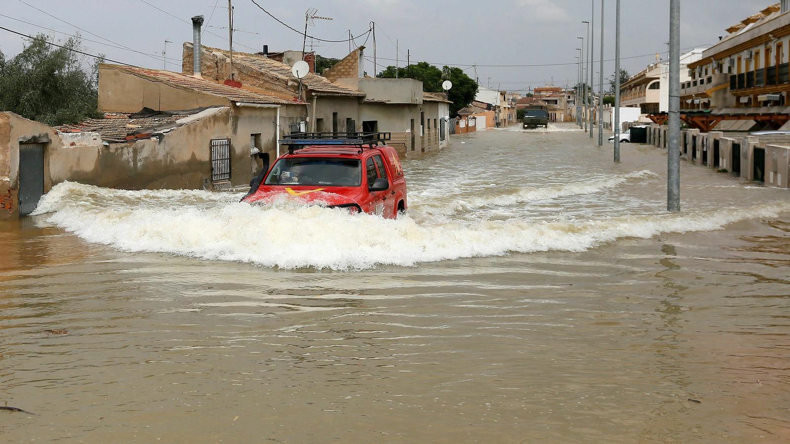 Municipi del Baix Segura on havia desaparegut un home holandès en ser arrossegat per l'aigua quan circulava amb un vehicle quad